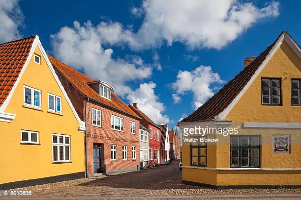denmark, jutland, exterior - dänemark stock-fotos und bilder