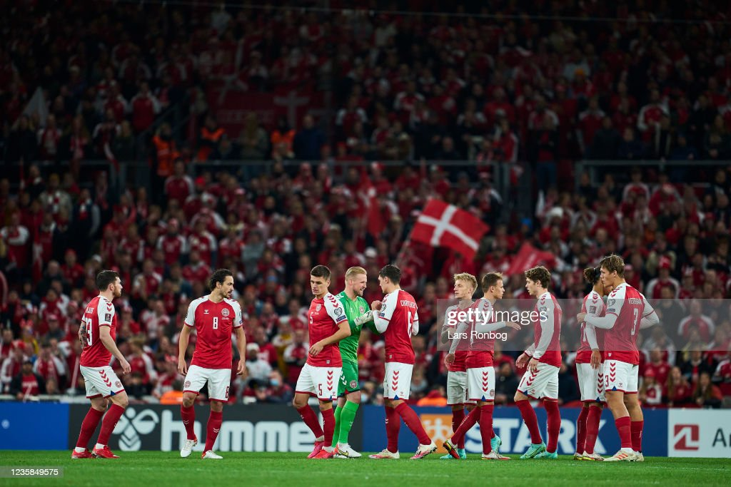 Denmark vs Austria - FIFA World Cup 2022 Qualifier : News Photo