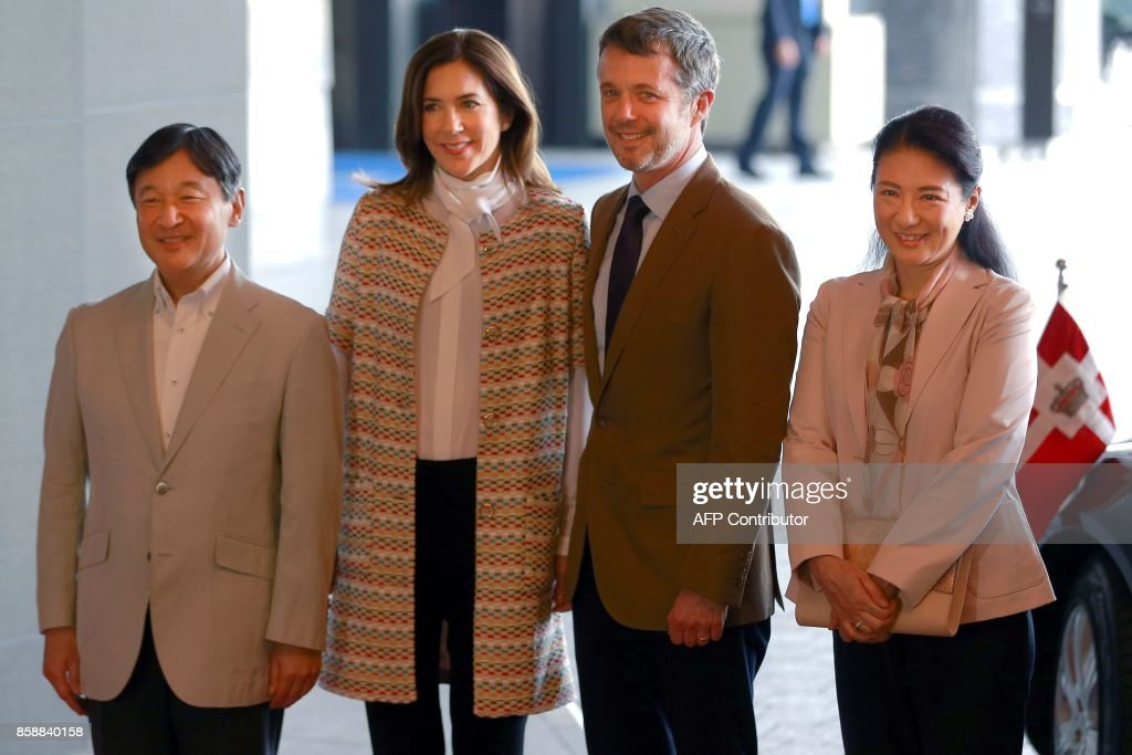 JAPAN-DENMARK-ROYALS-DIPLOMACY : News Photo