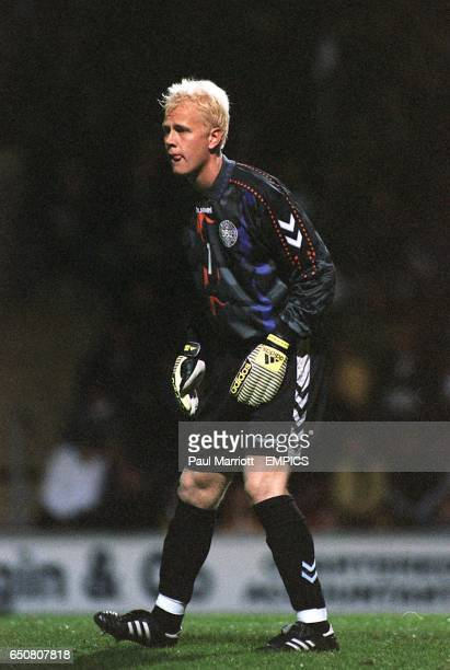 Denmark's goalkeeper Jimmy Nielsen