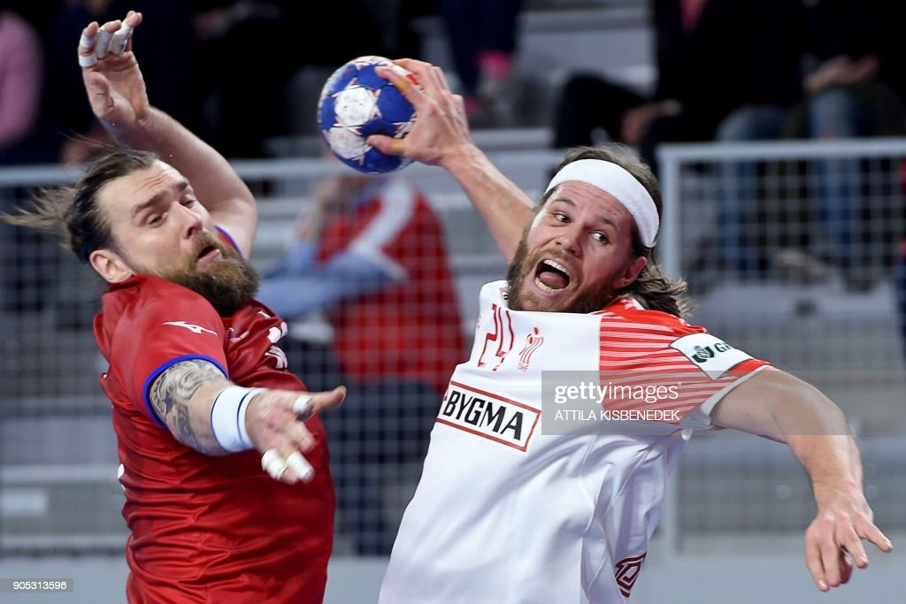 Czech Republic vs Denmark - European Handball Championship