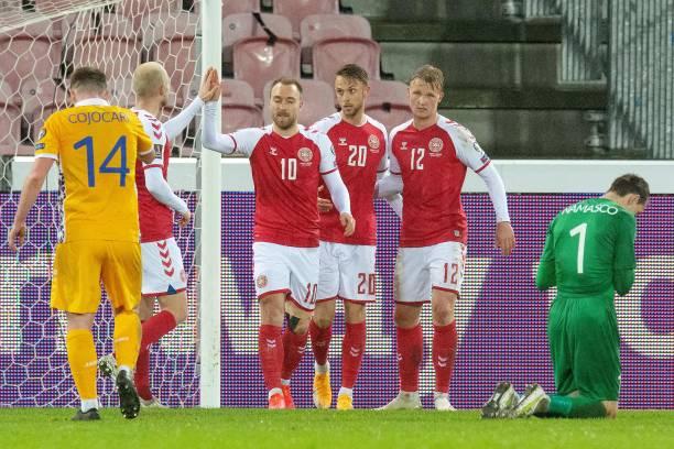 DNK: Denmark v Moldova - FIFA World Cup 2022 Qatar Qualifier