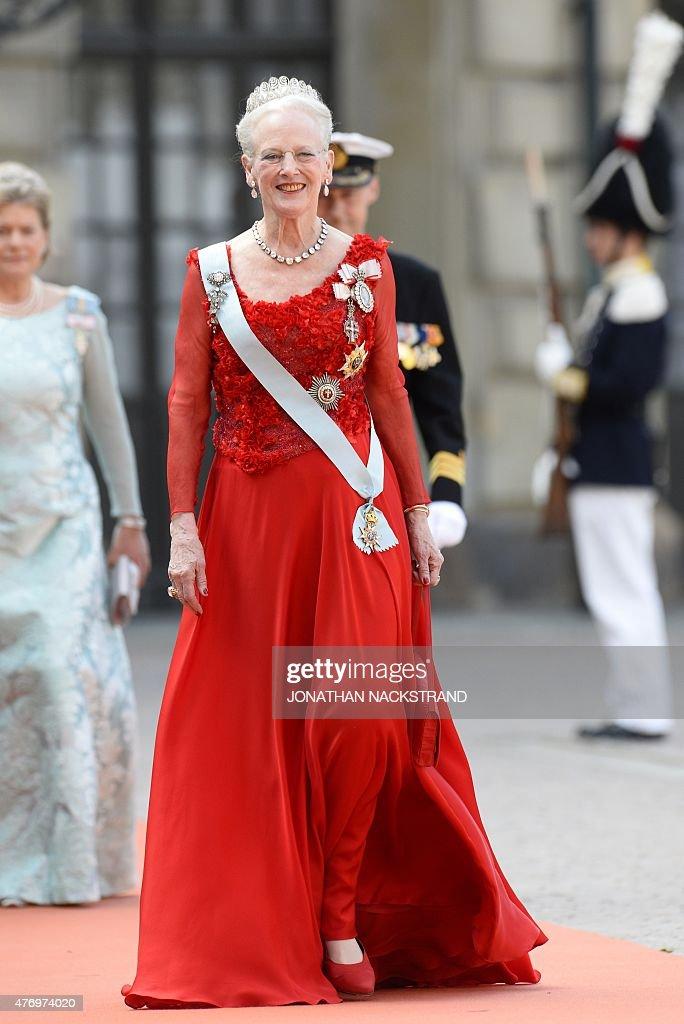 SWEDEN-ROYAL-WEDDING-ARRIVALS : News Photo