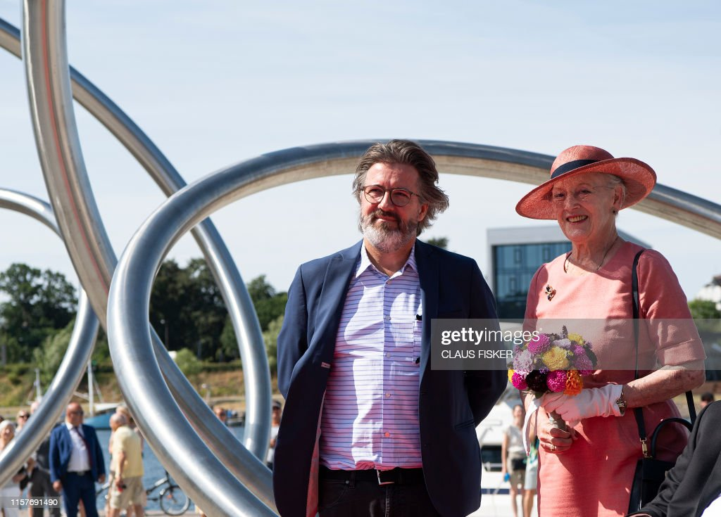 DENMARK-ROYALS-ART-WATERFRONT : News Photo