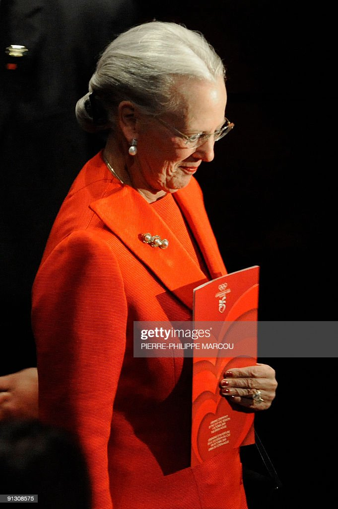 Denmark's Queen Margrethe attends the op : News Photo
