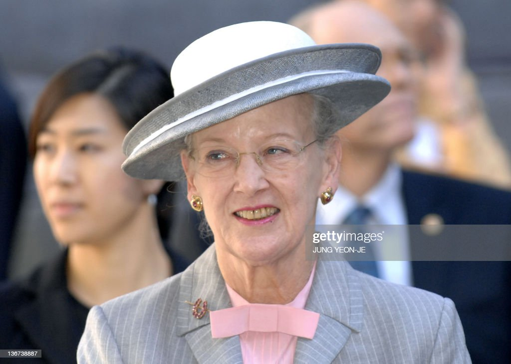 Denmark's Queen Margrethe II visits the : News Photo
