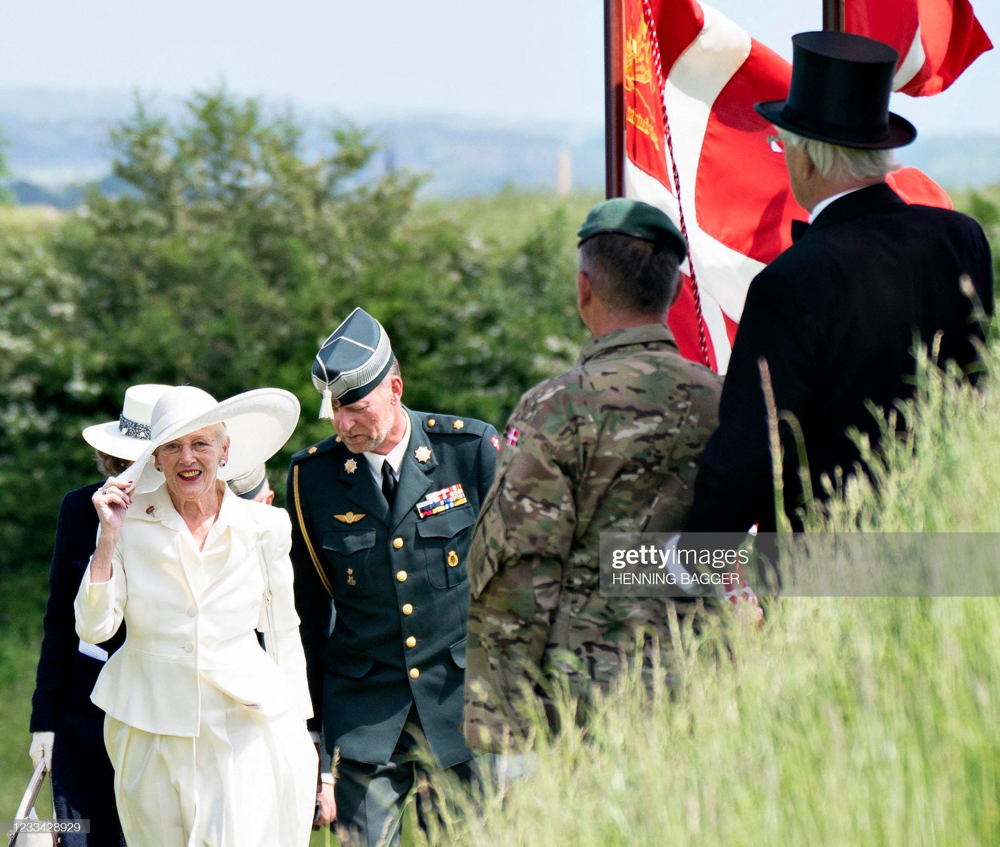 DENMARK-GERMANY-HISTORY-ROYALS-REUNIFICATION-ANNIVERSARY : News Photo