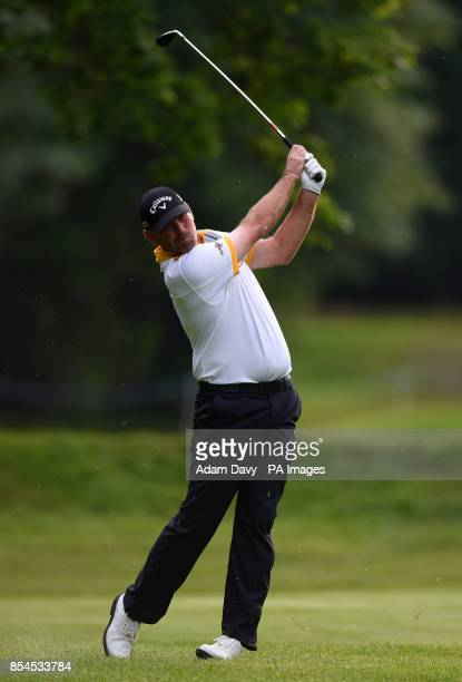 Denmark's Thomas Bjorn during day three of the BMW PGA Championships at the Wentworth Club Surrey
