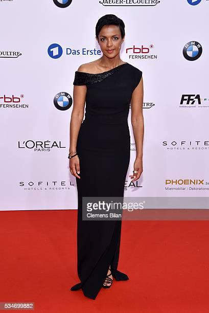 Dennenesch Zoudé attends the Lola German Film Award on May 27 2016 in Berlin Germany