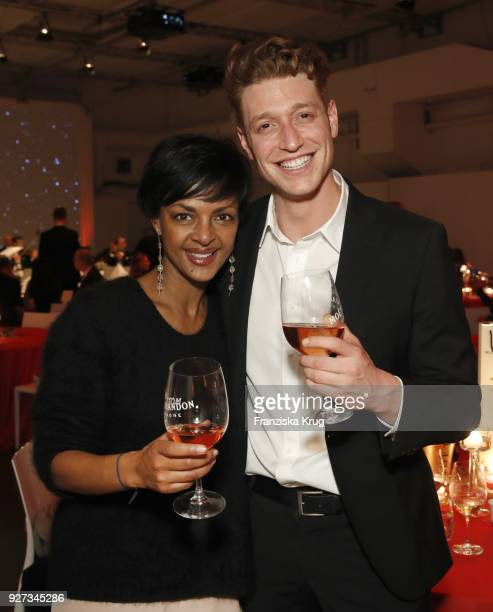 Dennenesch Zoude and Daniel Donskoy during the Moet Academy Night on March 4 2018 in Berlin Germany