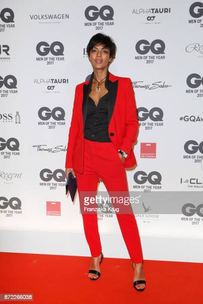 Dennenesch Zoude arrives for the GQ Men of the year Award 2017 at Komische Oper on November 9 2017 in Berlin Germany