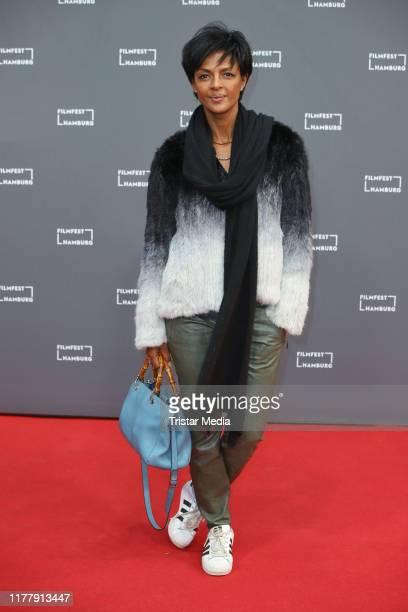 Dennenesch Zoude attends the Aus Haut und Knochen premiere during the Hamburg Film Festival on September 28 2019 in Hamburg Germany