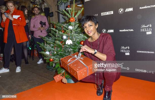 Dennenesch Zoude attends the Christmas Dinner Party of Lena Gercke at the Bar Hygge on November 30 2017 in Hamburg Germany