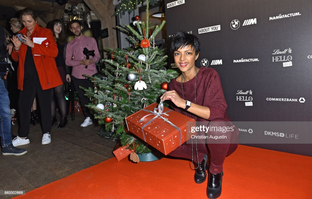 Dennenesch Zoude Attends The Christmas Dinner Party Of Lena
