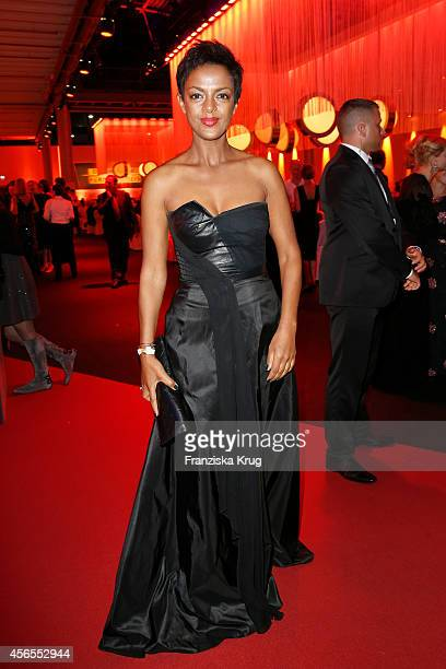 Dennenesch Zoude attends the Deutscher Fernsehpreis 2014 after show party on October 02 2014 in Cologne Germany