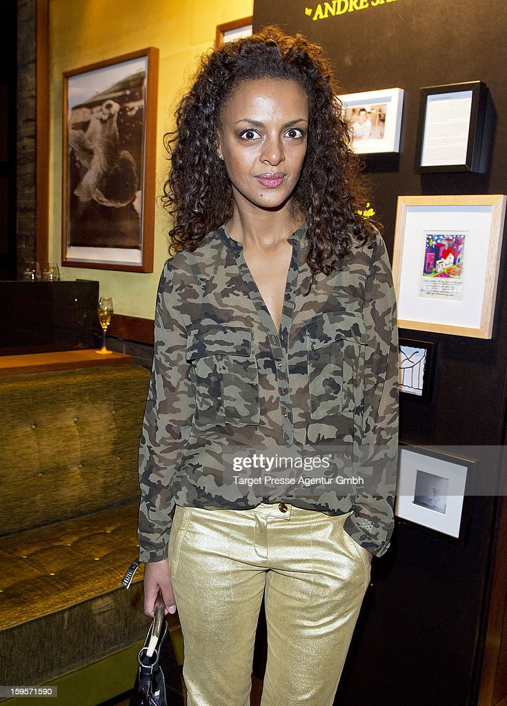 Dennenesch Zoude attends the Grazia Pop Up Casino during the Mercedes Benz Fashion Week Autumn/Winter 2013/14 at the Restaurant Uma on January 16, 2013 in Berlin, Germany.