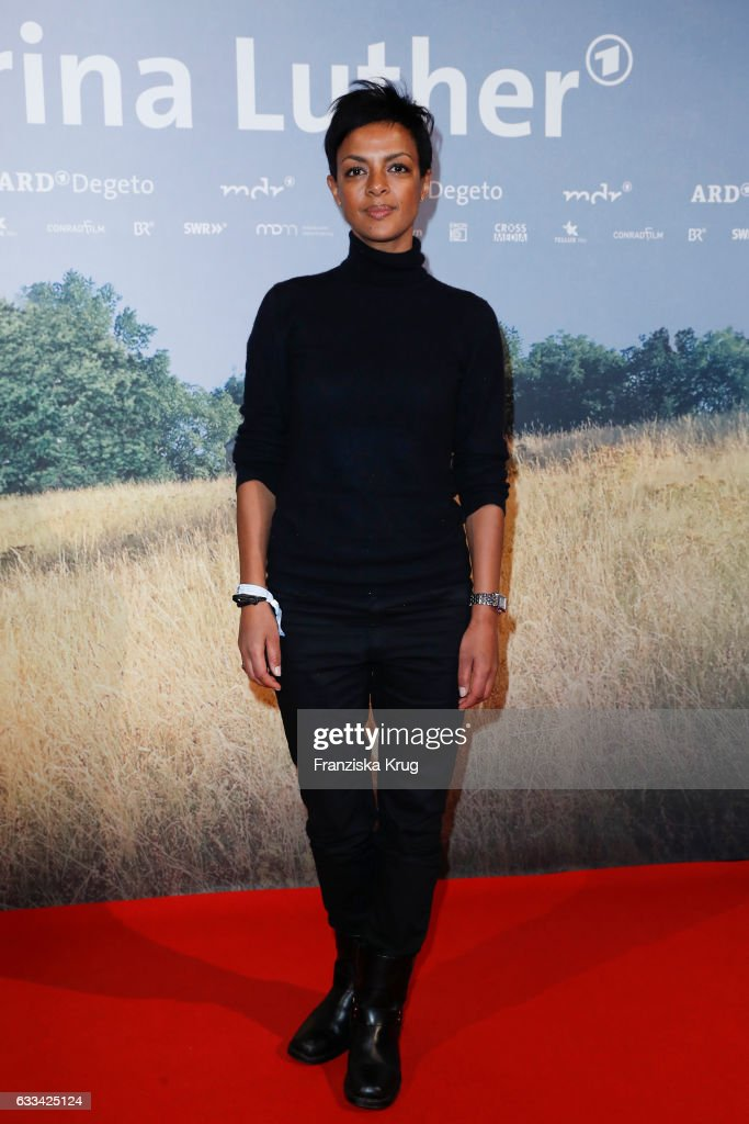 Dennenesch Zoude attends the 'Katharina Luther' Premiere at Franzoesische Friedrichstadtkirche in Berlin on February 1, 2017 in Berlin, Germany.