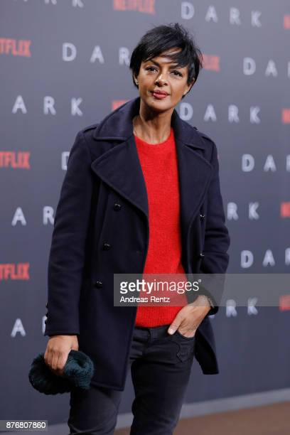 Dennenesch Zoude attends the premiere of the first German Netflix series 'Dark' at Zoo Palast on November 20 2017 in Berlin Germany