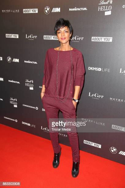 Dennenesch Zoude during Lena Gerckes Christmas Dinner Partyat Hygge on November 30 2017 in Hamburg Germany