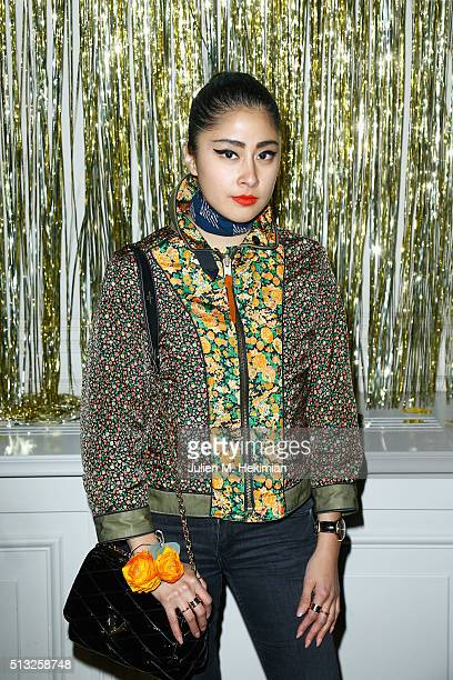 Denni Elias attends Prom 2016 Party hosted by Coach for the Paris Flagship opening as part of the Paris Fashion Week Womenswear Fall/Winter 2016/2017...
