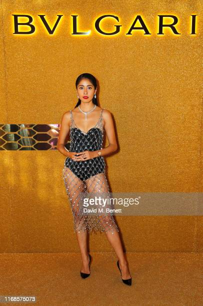 Denni Elias attends the Bvlgari Serpenti Seduttori launch at the Roundhouse on September 15 2019 in London England