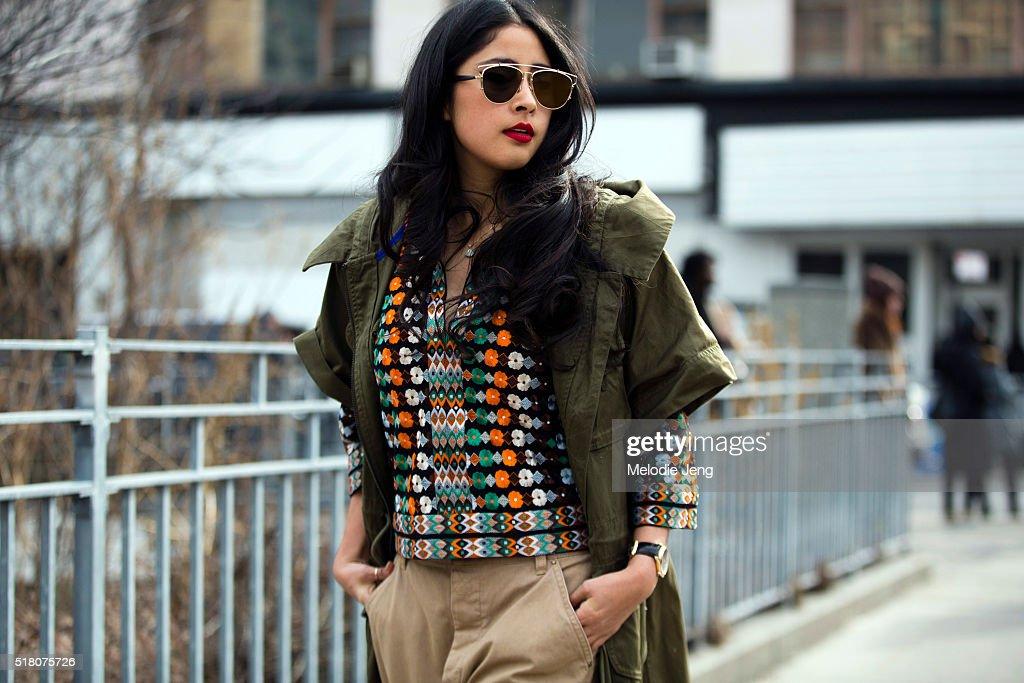 5193eac2655 Street Style - Day 2 - New York Fashion Week  Women s Fall Winter 2016