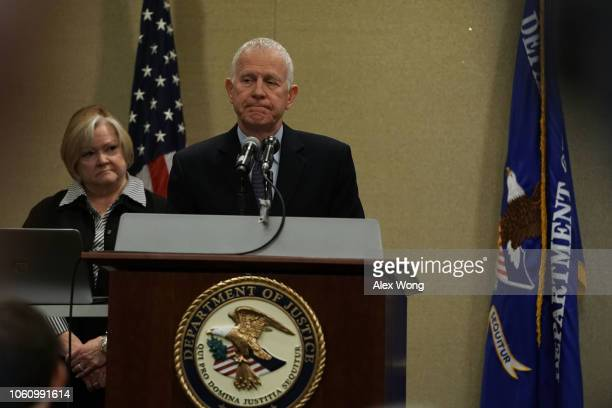 Dennis and Judy Shepard parents of Matthew Shepard who was beaten near Laramie Wyoming and died six days later from severe head injuries in 1998...