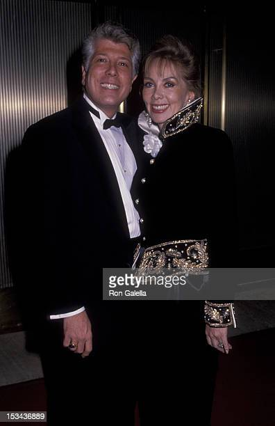 Dennis Basso and Monique van Vooren sighted on January 30 1986 at Maxim's in New York City