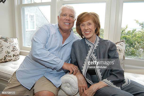 Dennis Basso and Peggy Flesher attend Carlos Souza Jewelry Preview Party at Southampton on July 22 2006