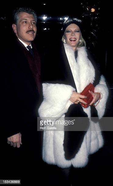 Dennis Basso attends Night of 100 Trees Gala on December 16 1989 at the Sheraton Center in New York City