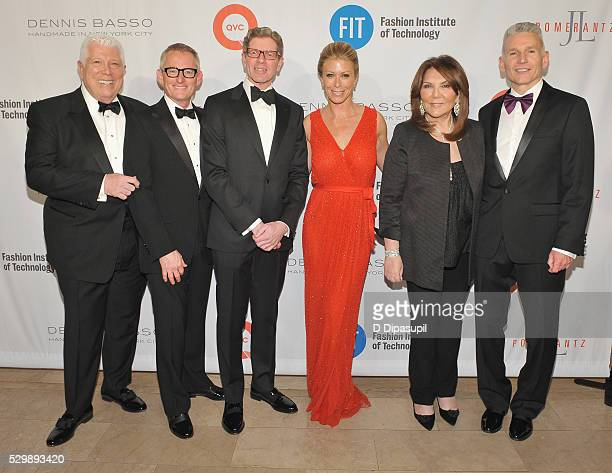 Dennis Basso Doug Howe Mike George Jill Martin Judith Ripka and Robert D'Loren attend FIT's Annual Gala to Honor Dennis Basso John and Laura...