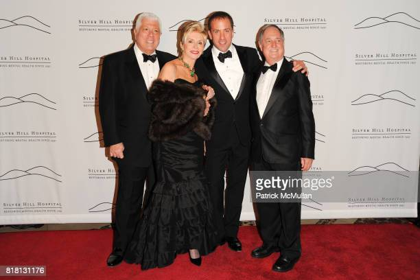 Dennis Basso Leba Strassberg Michael Cominotto and Neil Sedaka attend Silver Hill Hospital 80th Anniversary Gala at Cipriani 42nd Street on November...