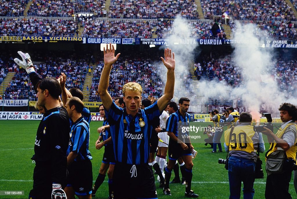 Serie A - Dennis Bergkamp of Internazionale : News Photo