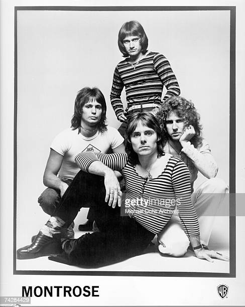 Dennis Carmassi Bill Church Sammy Hagar and Ronnie Montrose of the rock band Montrose pose for a portrait in 1973