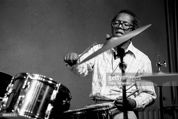 Dennis Charles performs live with the Jazz Doctors at Bimhuis in Amsterdam, Netherlands on October 22 1983