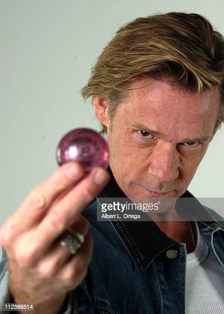Dennis Christopher during Photo Shoot of the Circle of the Black Thorn for the Official Angel Magazine October 2 2004 at WireImage Studio in...
