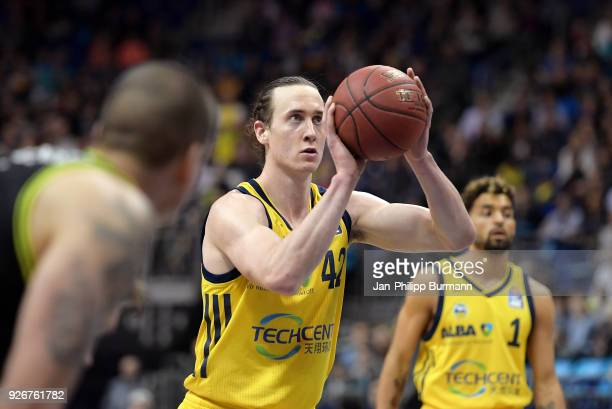 Dennis Clifford of Alba Berlin during the easyCredit BBL game between Alba Berlin and medi Bayreuth at MercedesBenz Arena on march 3 2018 in Berlin...