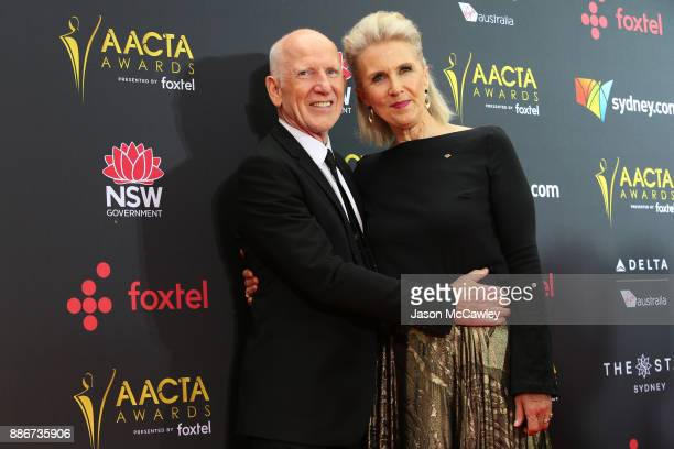 Dennis Coard and Debra Lawrance attends the 7th AACTA Awards Presented by Foxtel | Ceremony at The Star on December 6 2017 in Sydney Australia
