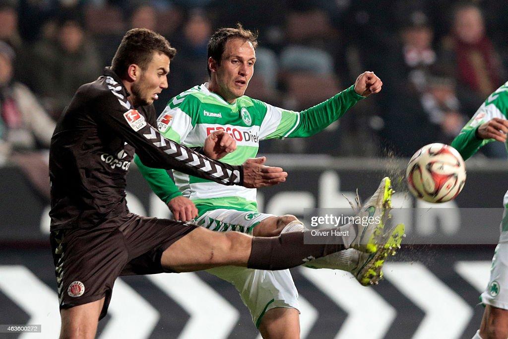 FC St. Pauli v Greuther Fuerth  - 2. Bundesliga