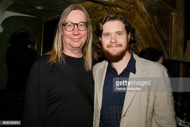 Dennis Dermody and Jack Dafoe attend A Theater of Varieties THE WOOSTER GROUP Benefit Sponsored by MAC and The BOX Produced by Tanya Selvaratnam at...