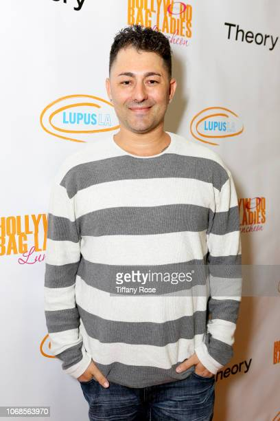 Dennis DeSantis attends Lupus LA's Hollywood Bag Ladies Luncheon at the Beverly Hilton on November 16 2018 in Beverly Hills California