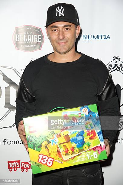 Dennis DeSantis attends the 7th Annual Manifest Your Destiny Toy Drive Fundraiser at Avalon on December 1 2014 in Hollywood California