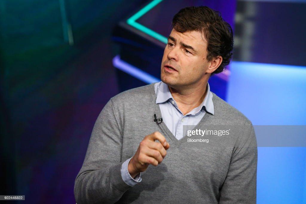 Flow Traders Co-Chief Executive Officer Dennis Dijkstra Interview : Nachrichtenfoto