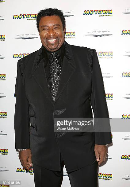 Dennis Edwards attending the Motown Family Night on Broadway at 'Motown: The Musical' at the Lunt Fontanne Theatre in New York City on 4/5/2013