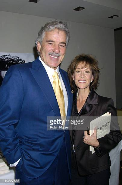 """Dennis Farina and Deana Martin during Deana Martin Book Party for """"Memories Are Made of This: Dean Martin Through His Daughter's Eyes"""" at The..."""