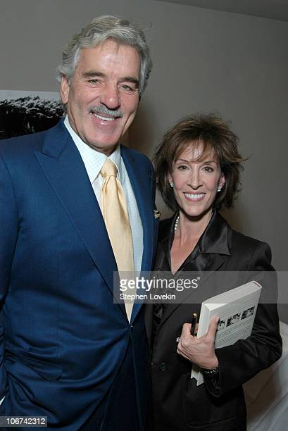Dennis Farina and Deana Martin during Deana Martin Celebrates the Publication of her New Book Memoirs Are Made Of This at Chambers Hotel in New York...