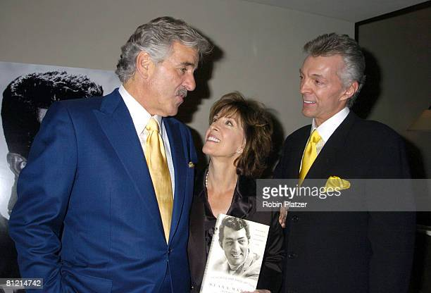 Dennis Farina Deana Martin and husband John Griffeth