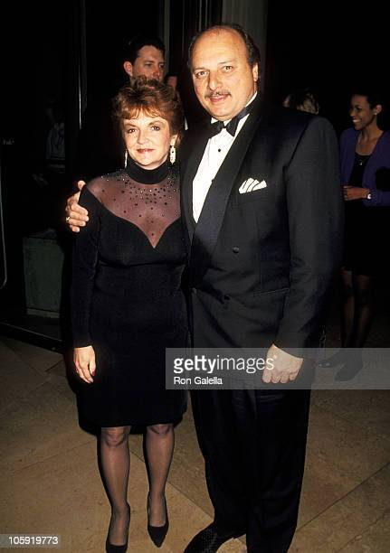 Dennis Franz and Joanie Zeck during 1994 Cinematographers Awards at Hilton Hotel in Beverly Hills California United States