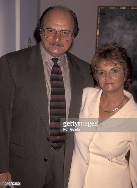 Dennis Franz and Joanie Zeck during 1996 Lucy Awards in Beverly Hills California United States