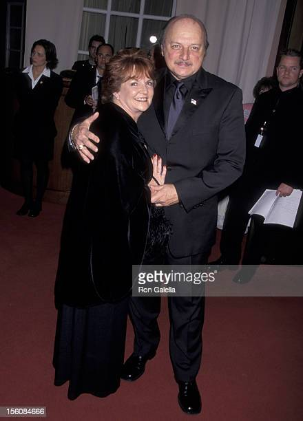 Dennis Franz and Joanie Zeck during 2002 AFI Awards Ceremony at Beverly Hills Hotel in Beverly Hills California United States